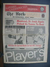 The Hockey News October 17,1969 Vol.23 No.2 Crozier Gilbert Esposito Oct '69 C