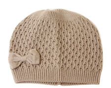 Fashion Knit Beanie With Bow Attached (4 in one pack, Comes in 4 colors)
