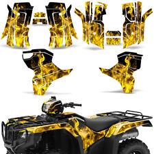 Graphic Kit Honda Foreman 500 ATV Quad Decals Stickers Wrap 2015 2016 ICE YELLOW