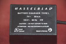 OEM Hasselblad ELX ELM EL Battery Charger. 115V AC  7V 50mA Charger.