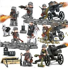 8PCS/Set LEGO Set Military World War 2 Military soldier Army Figures 2018
