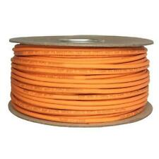 Cat6 Solid LSZH Cable 10m Reel Orange 100% Copper Data Networking Ethernet