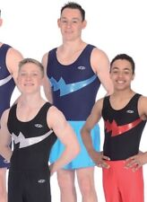 ZONE BOYS FALCON BLACK / RED ONLY LEOTARD    AGE 15+.       SIZE 38