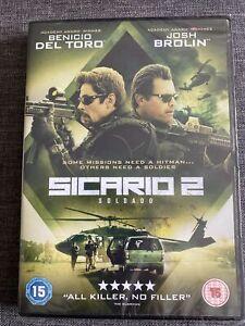 Sicario 2: Soldado DVD (2018) NEW SEALED DVD