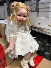 Künstlerpuppe Porzellan Puppe 45 cm. Top Zustand