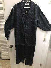NWT! Men's Pajamas Silky Paisley XL size Xl Roundtree Yorke Elastic Loungewear