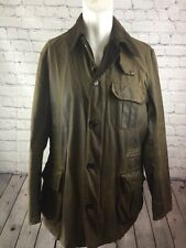 Barbour Wax Jacket Icons Beacon See Description. Size L Made In England. Brown