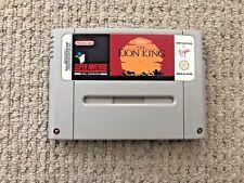Disney The Lion King SNES Super Nintendo Game PAL