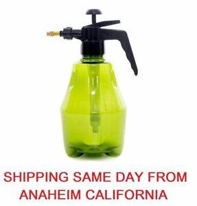 Hand-held Portable Water/Chemical Sprayer Pump Pressure Garden Spray Bottle 2L