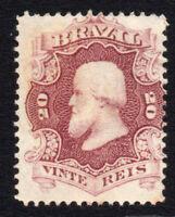 Brazil 20 Reis Stamp c1866 Unused (3460)
