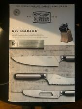 Chicago Cutlery 500 Series 15 Piece Cutlery Set New In Box Free Us Shipping