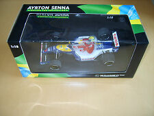 Minichamps Nigel Mansell Ayrton Senna Taxi FW14 1:18 with livery