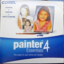 New Corel Painter 4 Essentials for Win 2000/XP/Vista Mac OS X 10.4.x