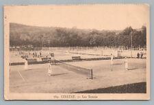 Etretat—Tennis Courts CPA Terrains Antique Seine-Maritime Normandy 1910s