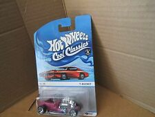 2013 Hot Wheels Cool Classics T- Bucket Spectrafrost Still Sealed