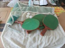Ping Pong Set , Harvard , Made in USA , Vintage