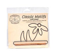 Classic Motifs Daffodil 6 Inch Fabric Holder With Dowel
