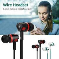3,5 mm HIFI Super Bass Headset In-Ear-Kopfhörer Stereo-Ohrhörer best O4K5