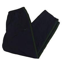 Vtg 90s Nike Track Pants Men's Xl Blue/Green Swoosh Basketball Running Athletic