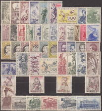 CZECHOSLOVAKIA - 1956 COMPLETE YEAR SET STAMPS - JAHRGANG - **MNH** - CHEAP !!