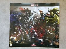 SDCC 2018 Marvel Avengers Age of Ultron Movie Poster Comic-Con exclusive