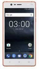 NOKIA 3 Dual-Sim, Smartphone, 16 GB, Android 7, 5.2 Zoll, Kupfer weiß DUAL T3252
