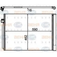 HELLA Kondensator, Klimaanlage 8FC 351 302-494 BMW