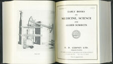 R.D. Gurney: Early Books on Medicine, Science. 19 Catalogues #90-108 1983-1990.