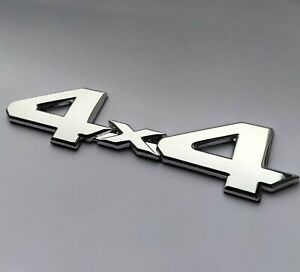 Silber Chrom 4x4 Metall Auto Abzeichen Emblem für Nissan X - Trail Navara