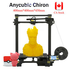CA ANYCUBIC FDM 3D Printer Chiron Large Print Size 400*400*450mm Free 500g PLA