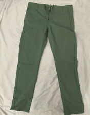 Mens Dockers Cotton Pants Light Green Slim Tapered 30x32