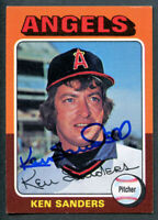 Ken Sanders #366 signed autograph auto 1975 Topps Baseball Trading Card