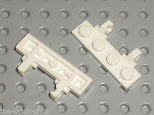 LEGO white hinge plate 44568 / Set 7783 7893 7648 7261 7662 10129 7649 7694 ...