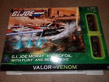 G.I.JOE VALOR vs VENOM: MORAY HYDROFOIL with FLINT and BEACHHEAD