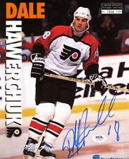 Dale Hawerchuk Signed Limited Edition Philadelphia Flyers Insert Photo (PSA COA)