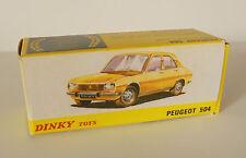 Repro Box Dinky Nr.011452 Peugeot 504