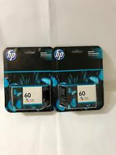 HP 60 Tricolor Ink Cartridge Pack of 2 EXP 12/2017