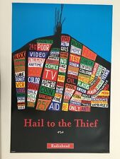 Radiohead,Hail To The Thief, Rare Authentic Licensed 2003 Poster
