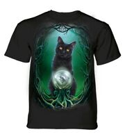 The Mountain Adult Rise of Witches Lisa Parker Cat T Shirt