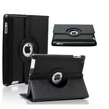 "iPad 360 Rotating Stand Case Cover for 2017 iPad 5th Generation 9.7""- Model Black"