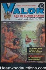 """""""Valor"""" October 1959 Howell Dodd, Mel Crair cover - Ultra High Grade- NAPA"""