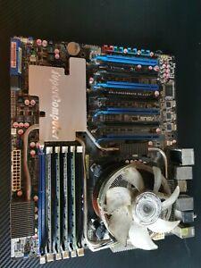 ASUS P6T7 SUPERCOMPUTER Mainboard mit 16GB DDR3 Ram & i7 965 CPU