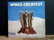 WINGS  Greatest  LP  with poster intact!   Lovely copy !