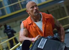 PHOTO FAST & FURIOUS 8  - DWAYNE JOHNSON - 11X15 CM # 1