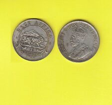 British East Africa GEORGIUS V One  Shilling Argent 1924  Exemplaire N° L