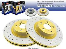 DBA GOLD DRILLED & SLOTTED REAR BRAKE ROTORS 1997-2004 CHEVY CORVETTE C5 Z06