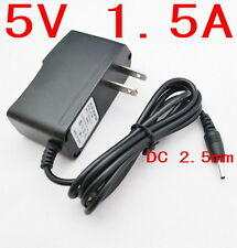 Universal IC Power Adapter AC Charger 5V 1.5A DC 2.5mm US for Android Tablet PC