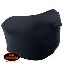 Black Half Neoprene Face Mask Biker Atv Ski Hunting Paintball Sport Hot Leathers