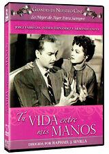 TU VIDA ENTRE MIS MANOS (1955) JORGE FABREGAS NEW DVD