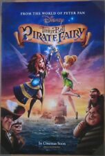 THE PIRATE FAIRY MOVIE POSTER 2 Sided ORIGINAL 27x40 TINKER BELL